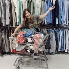 Jenna loves sourcing new inventory. Rule though — make sure it's flawless and stain-free. Make And Sell, How To Make Money, Retirement Budget, Sell Old Clothes, Mo Money, New Inventory, Online Thrift Store, Earn Money From Home, Selling On Poshmark