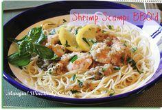 Shrimp Scampi BBQ'd
