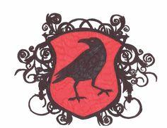 Raven Coat Of Arms by ShadowmoonXBlackfire on deviantART