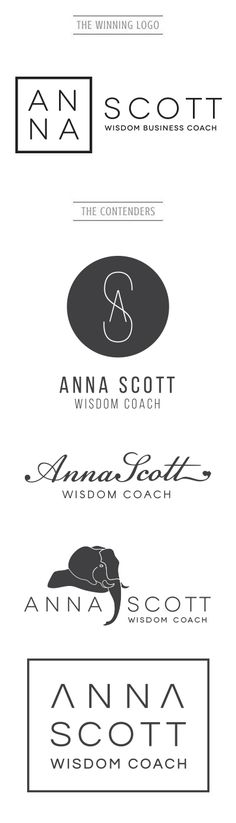 Anna Scott is a successful Wisdom Coach with a deep passion for helping people become more self aware and grow. She came to us with the vision of a logo that was balanced between masculine and feminine, sharp and soft. We created a logo that was both modern and unique to her profession. If you like this and want to see more, check us out at www.artsygeek.com/portfolio/