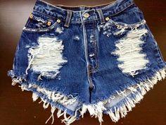 DIY High waisted Shorts!! | IndieIdeas
