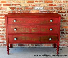 tricycle red chest Petticoat Junktion