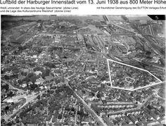 Hamburg Harburg aus der Luft