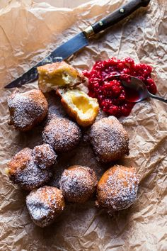 Wild Blueberry & Coconut Ricotta Doughnuts-25