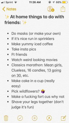 things to do at a sleepover Friend things to do when bored, Teen Sleepover, Things To Do At A Sleepover, Fun Sleepover Ideas, Sleepover Activities, Things To Do At Home, Sleepover Party, Best Friend Activities, Pajama Party, Fun Things