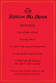Afternoon Tea Russian Tea Room Chicago