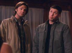 Dean & Sam Winchester :) Jensen Ackles & Jared Padalecki #Supernatural
