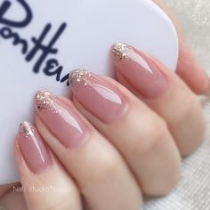 Stylish acrylic nude wedding nails design ideas – Page 27 How to use nail polish? Nail polish on your friend's nails looks perfect Classy Nails, Stylish Nails, Simple Nails, Trendy Nails, Simple Bridal Nails, Nail Polish, Nail Manicure, Gel Nails, Coffin Nails