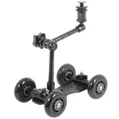 Gydoxy(TM) 4 wheel Desktop DSLR camera vedio photograph rail track slider table dolly   11' Magic Arm for DSLR Camera for Canon LF151 *** Check out the image by visiting the link.
