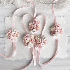 Different colors Bridal braceletbridesmaid corsage by SERENlTY