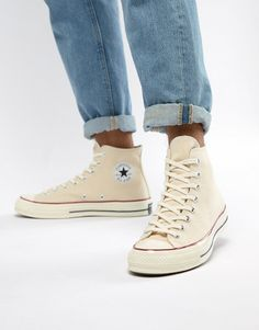 06a4c81289e9bc Converse Chuck Taylor All Star  70 Hi Sneakers In Parchment 162053C