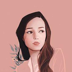 Charaktervolle Porträts – Janice Sung mag starke Frauen, muntere Farben und klare Linienführung - detailverliebt.de