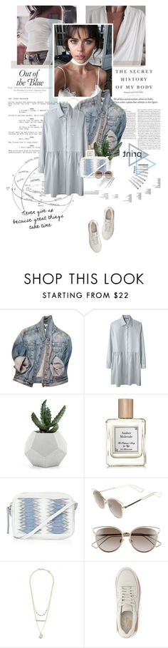 """""""Never give up because great things take time."""" by sarahstardom ❤ liked on Polyvore featuring Express, Charles Anastase, Topshop, Christian Dior and NIKE"""