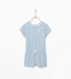Image 1 of Striped seahorse jumpsuit from Zara