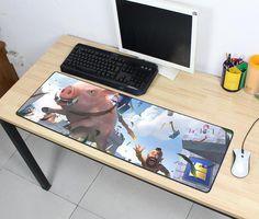 Clash Royale pad mouse computador gamer mause pad padmouse big cool new mousepad ergonomic gadget office desk mats Office Gadgets, Desk Mat, Clash Royale, Mousepad, Bath Caddy, Office Desk, Cool Stuff, Big, Home Decor