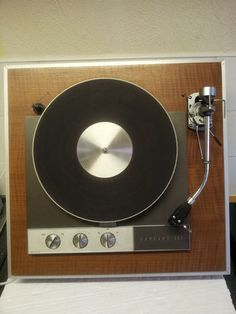 Garrard 401 Turntable With SME model 3009 series II improved