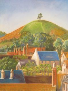 Across the Rooftops to Colmer's Hill - £130