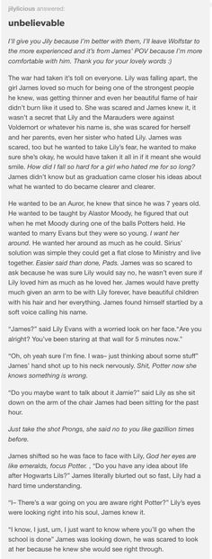 James and Lily part 1
