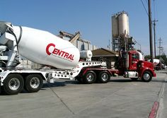 central-concrete-web1 Big Rig Trucks, Semi Trucks, Mixer Truck, Truck Scales, Concrete Mixers, Kenworth Trucks, Heavy Equipment, Rigs, Cement