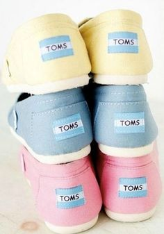 TOMS has the perfect pastels that give back in a big way.