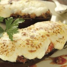 Good Food, Yummy Food, I Want To Eat, Greek Recipes, Eggplant, Mashed Potatoes, Food To Make, Food And Drink, Cooking Recipes