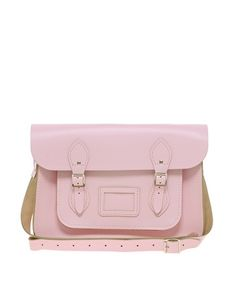 Cambridge Satchel Company Baby Pink 14 Leather Satchel