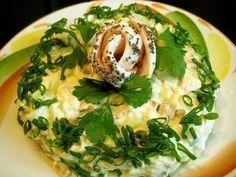 Salad «Cheburashka»