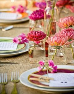 Stylish And Inspiring Spring Table Decoration Ideas