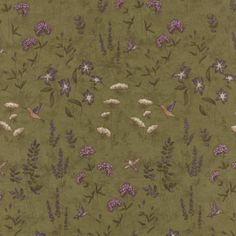 The Potting Shed Fern 6623 13 Moda Fabrics and Holly Taylor Big Block Quilts, Quilt Blocks, Old Country Stores, Fabric Shop, Muted Colors, Green And Brown, Ferns, Make Your Own, Quilt Patterns