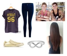 """""""Jack & Jack"""" by srcalderon on Polyvore featuring J Brand, Converse and Jewel Exclusive"""