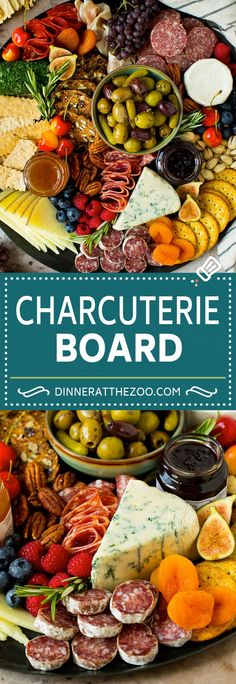 A complete guide on how to put together the best charcuterie board, with a selection of meats, cheeses, crackers, fruit, veggies and other snack foods. The ultimate party appetizer that always gets rave reviews! Appetizers For A Crowd, Easy Appetizer Recipes, Yummy Appetizers, Appetizer Party, Holiday Appetizers, Recipes Dinner, Easy Recipes, Vegan Recipes, Best Party Food