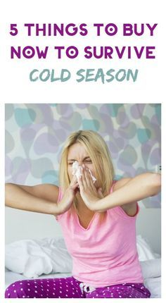Get ready for cold season before viruses strike! Shop now for these 5 things…
