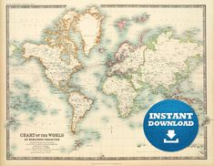 Digital old world map printable download vintage world map digital old world map printable download vintage world map printable map large world map high resolution world map posterastralia digital world publicscrutiny Choice Image