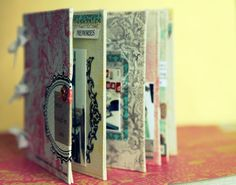 Awesome mini book with great ideas!