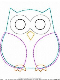 ITH Owl Raggy Applique DIGITAL Embroidery Design You are in the right place about embroidery shoes Here we offer you the most beautiful pictures about the embroidery tree you are looking for. Owl Sewing Patterns, Applique Patterns, Quilt Patterns, Owl Applique, Applique Design, Embroidery Designs, Sewing Crafts, Sewing Projects, Owl Pillow