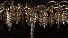 Silver Plated Leaves