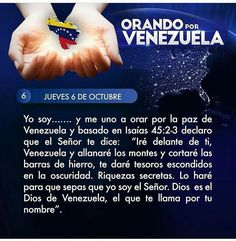 Orando por Venezuela día 6