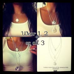Options, options, options! Chloe and Isabel necklace- lifetime guaranty!  https://www.chloeandisabel.com/boutique/caitlintoups