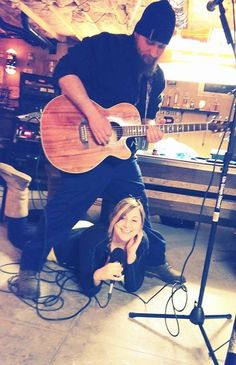 That's Nate and me! Jam time! <3