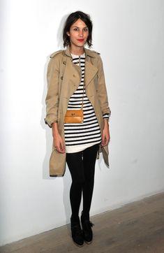 Burberry har visat sin nya kollektion på London Fashion Week – och trenchcoaten finns alltid med på catwalken. Alexa Chung är expert på att styla trenchen – ta hennes tips till din egen stil!