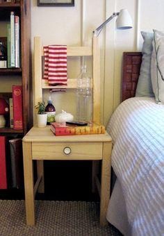 diy project: ikea bedside chair   Design*Sponge