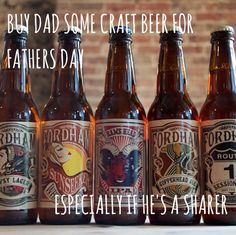 Treat dad to something new this #fathersday - the best American craft beer that you can buy in the UK!