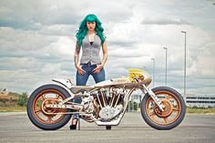 Motorcycle Girl 069 ~ Return of the Cafe Racers