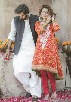 Bonanza Satrangi Colors of Eid Collection! Handsome Hasnain Lehri and Beautiful Hania Amir Photoshoot of Bonanza Satrangi ❤ #HasnainLehri #HaniaAmir #BonanzaSatrangi #ColorsOfEid #EidCollection17 #PakistaniFashion #PakistaniCelebrities ✨