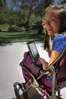 Alert -Wheelchair Mount Arm is only 6'' MagConnect™ for iPad 4th/3rd/2nd Gen | The JOYFACTORY.COM.  $179.00