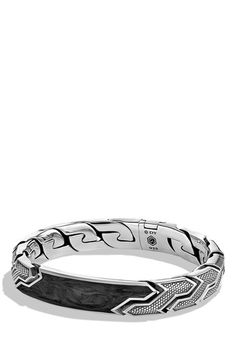 David Yurman Forged Carbon ID Bracelet available at #Nordstrom