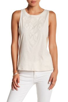 Big Deal Embroidered Tank