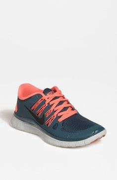 Nike 'Free 5.0' Running Shoe (Women) available at #Nordstrom. Running inspiration. Cute shoes. No joke.