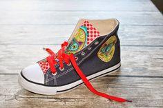 Pimp my canvas shoes Anleitung