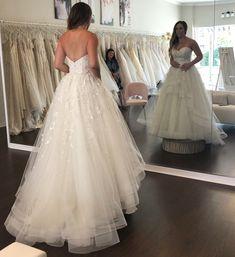 Wedding Dress Shopping at Malindy Elene in Tampa, FL (Anne Barge Blue Willow 'Anya') Wedding Dress Shopping, Wedding Dresses, Anne Barge, Lace, Fashion, Bride Dresses, Moda, Bridal Gowns, Fashion Styles